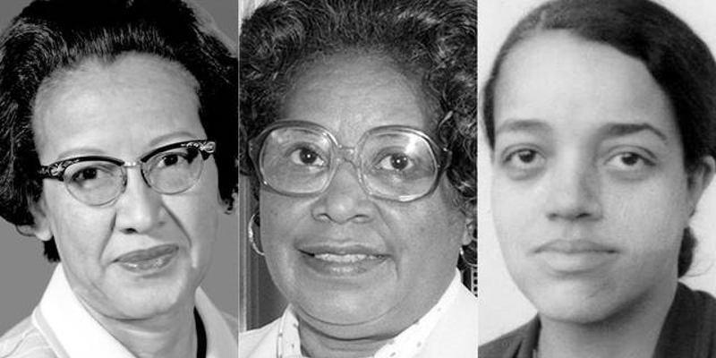 Le tre reali donne di cui tratta il film.