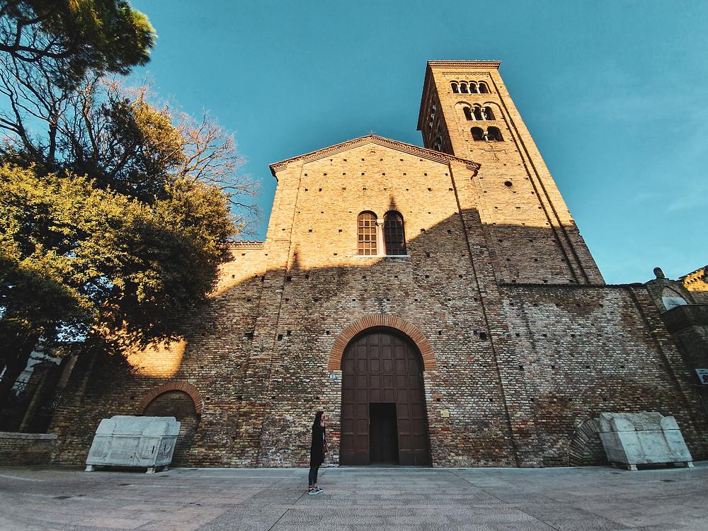 Basilica di San Francesco, zona Dantesca di Ravenna.