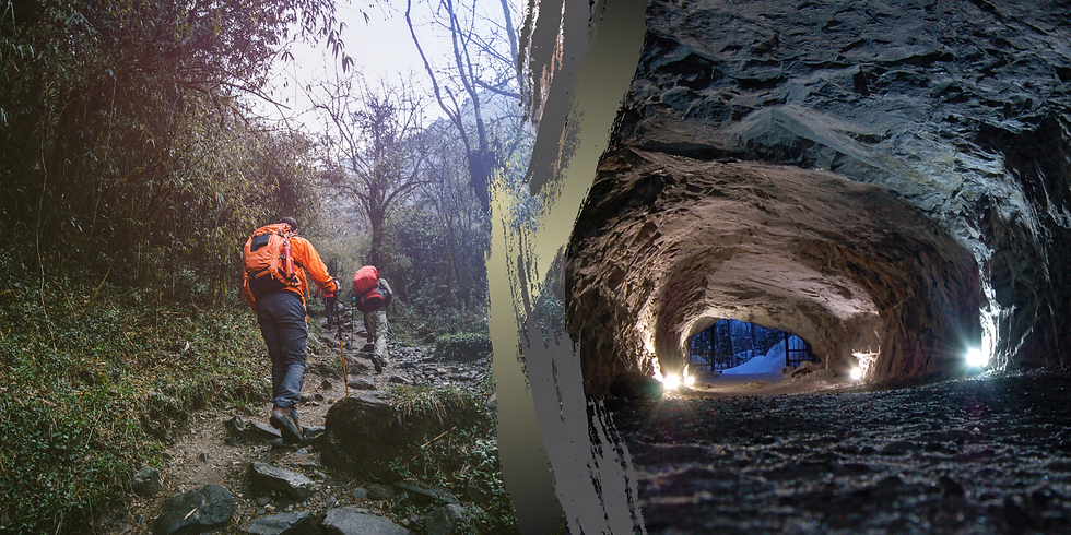 Trekking naturalistico e visita alle grotte!