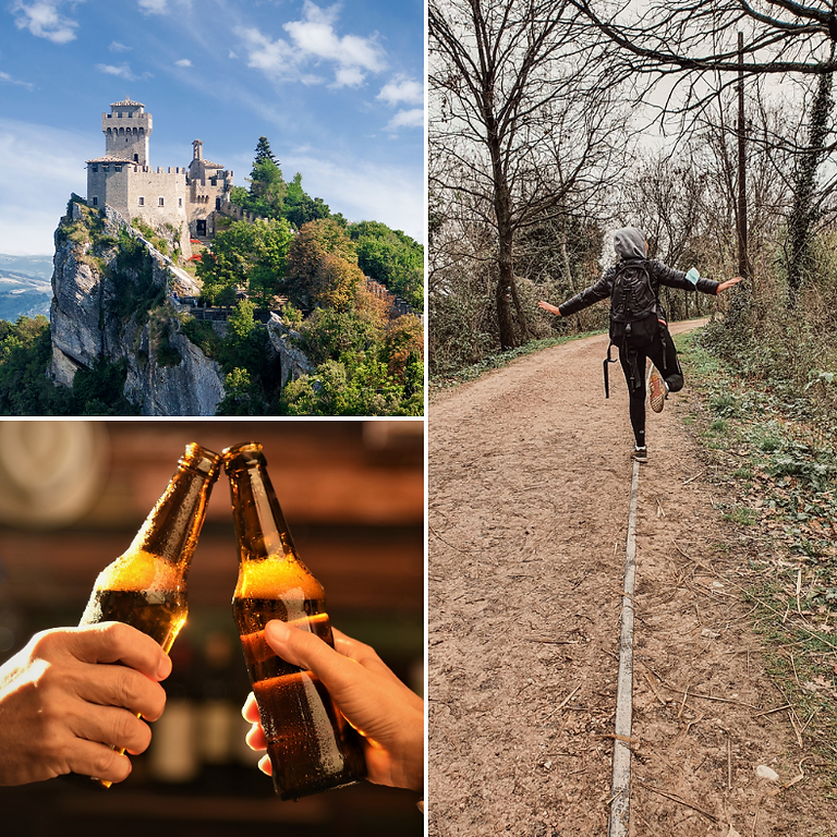 San Marino: storia e natura.