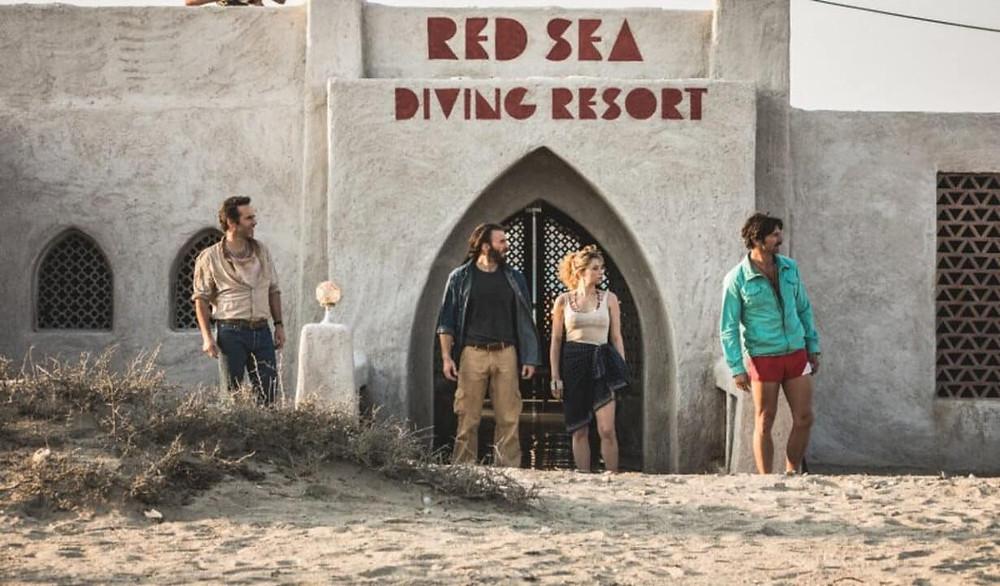 L'immagine del resort in Sudan, luogo fulcro dell'intero film. Immagine presa dal web.
