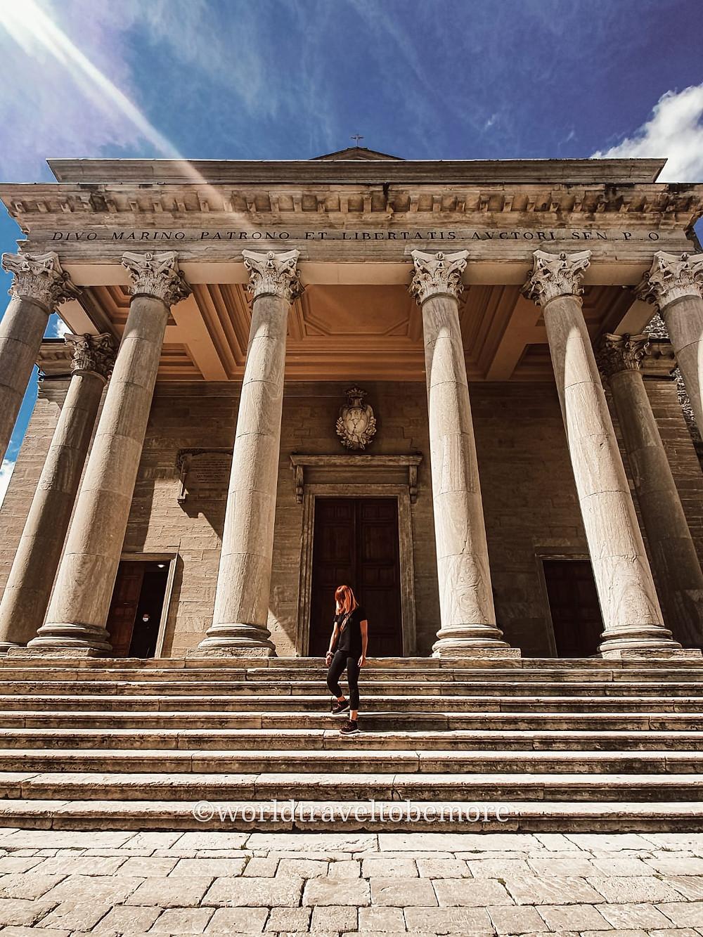 Basilica di San Marino, la nascita della RSM