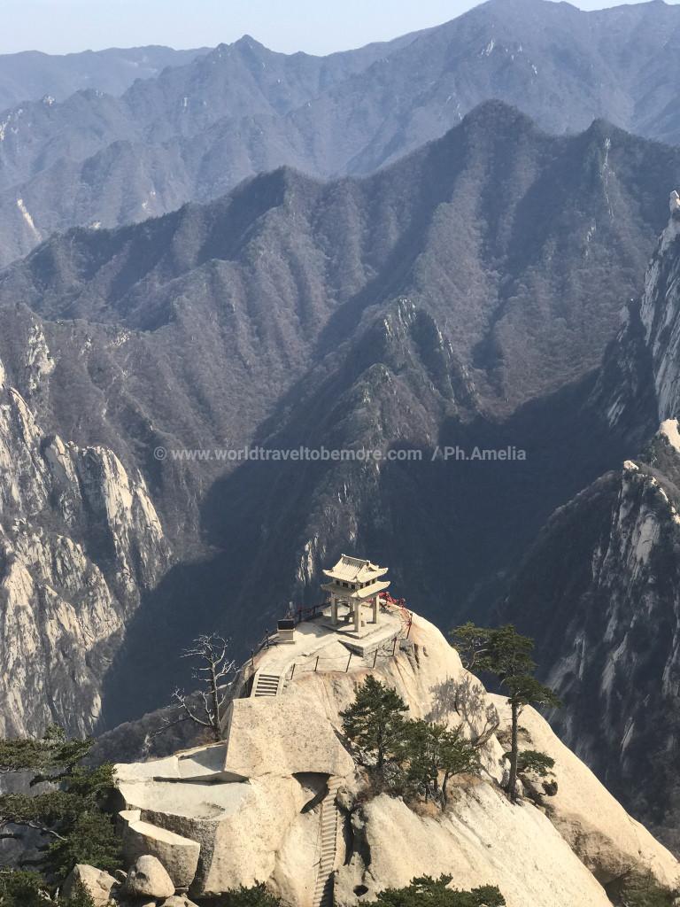 Monte Huashan, Xi'An, Cina.