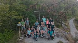 Foto ricordo del nostro trekking di gruppo in Emilia Romagna @gajjey