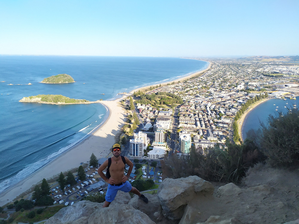 Vista mozzafiato da Mount Maunganui, NZ. PH Gian Marco S.