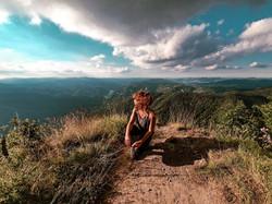 Una fotografia scattatami a Monte Penna, un bellissimo punto di panoramico sulle Foreste del Casenti