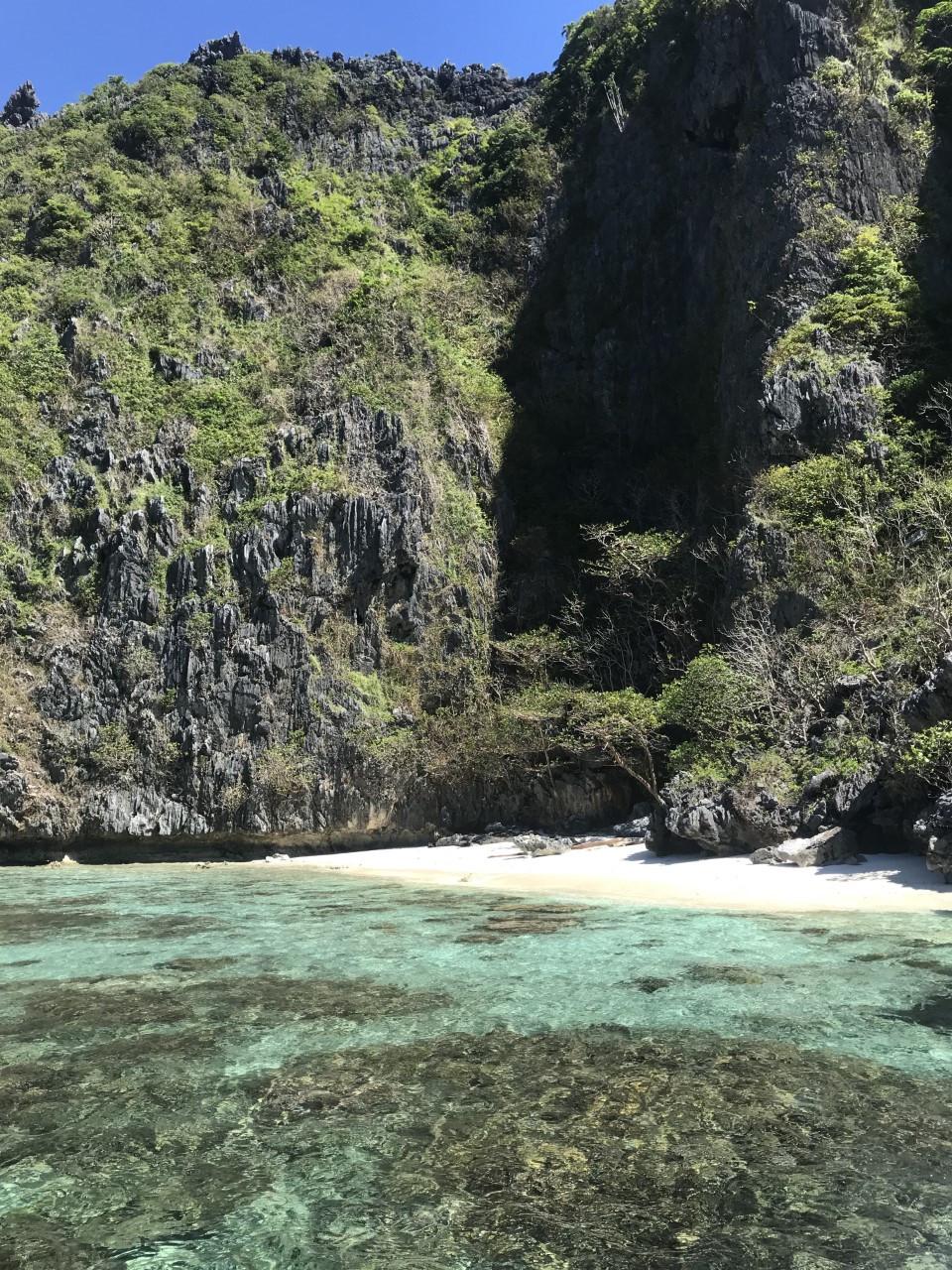 Isola Mantinloc, El Nido. Filippine