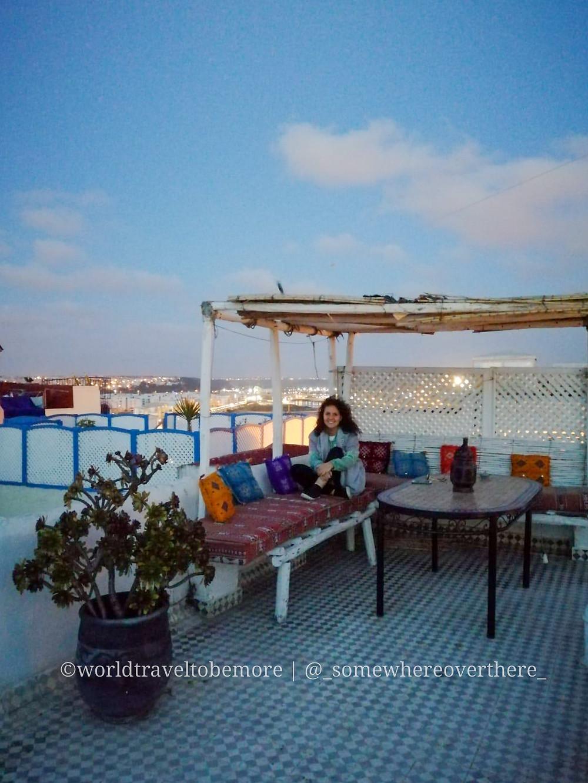 Riad a Rabat. Una struttura tipica in cui pernottare durante un viaggio in Marocco. | worldtraveltobemore.com