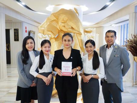 โรงแรมอิเลฟเว่น กรุงเทพฯ สุขุมวิท 11 ได้รับรางวัลผลโหวต 9.2/10 คะแนนจาก Hotels.com