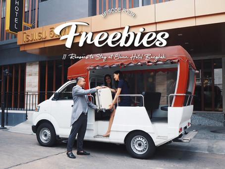EP.4 Freebies - 11 Reasons to Stay at Eleven Hotel Bangkok