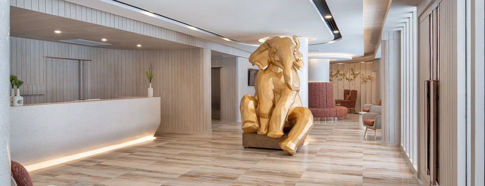 Lobby & Elephant Statue