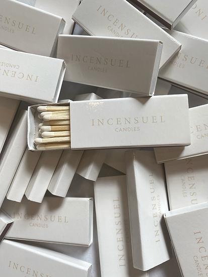 INCENSUEL candles match sticks