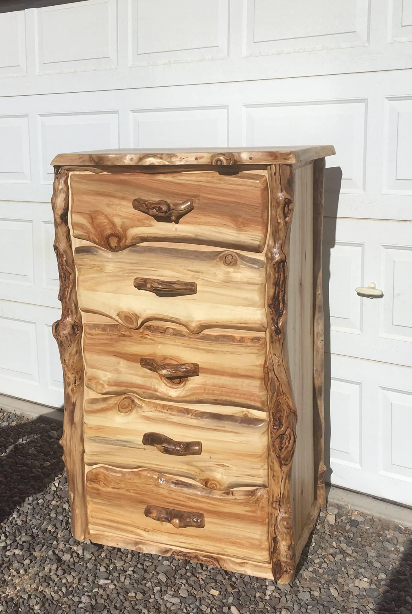 Aspen 5 drawer dresser