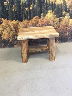 Small  Aspen bench