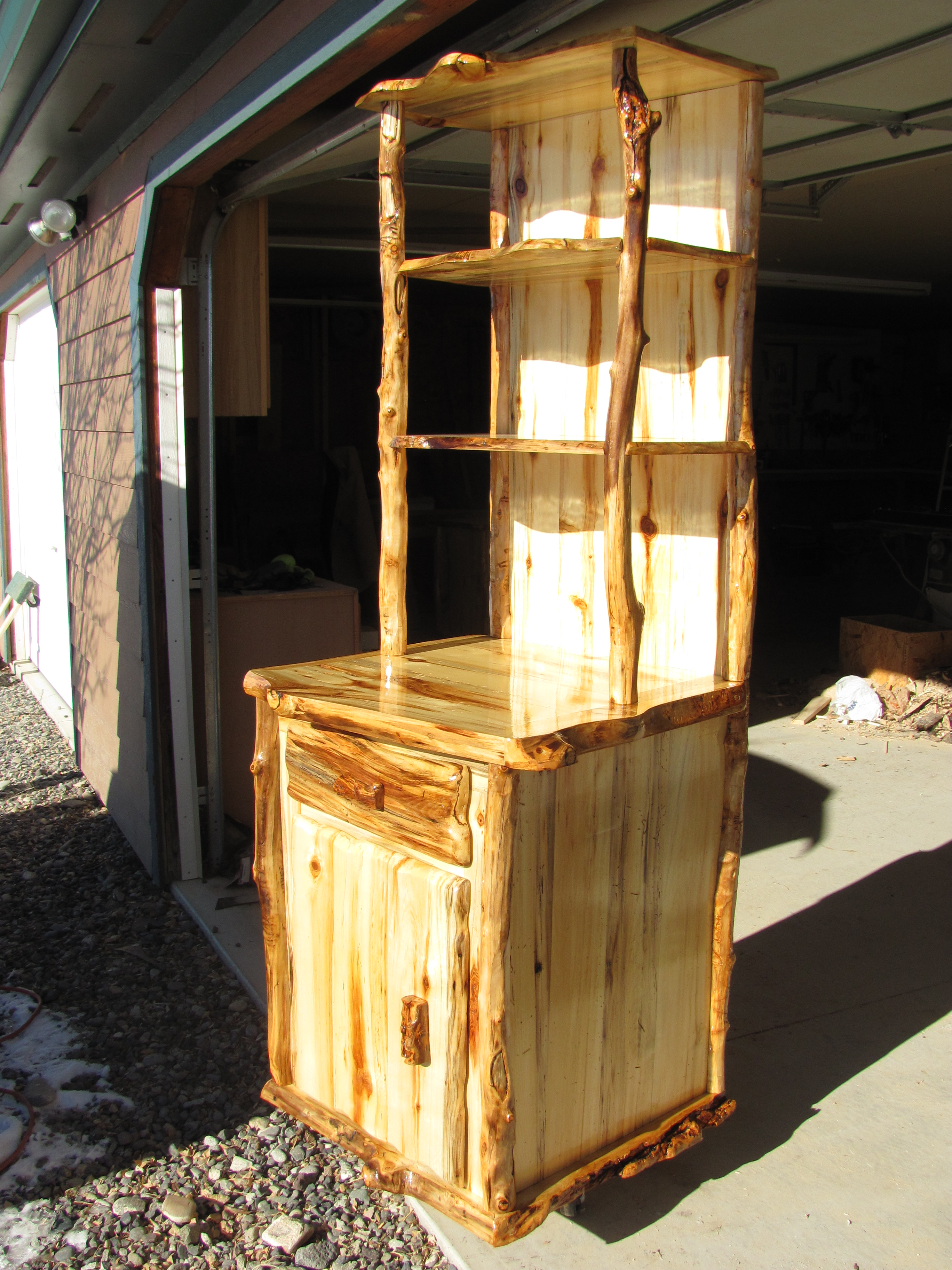 Custom storage unit