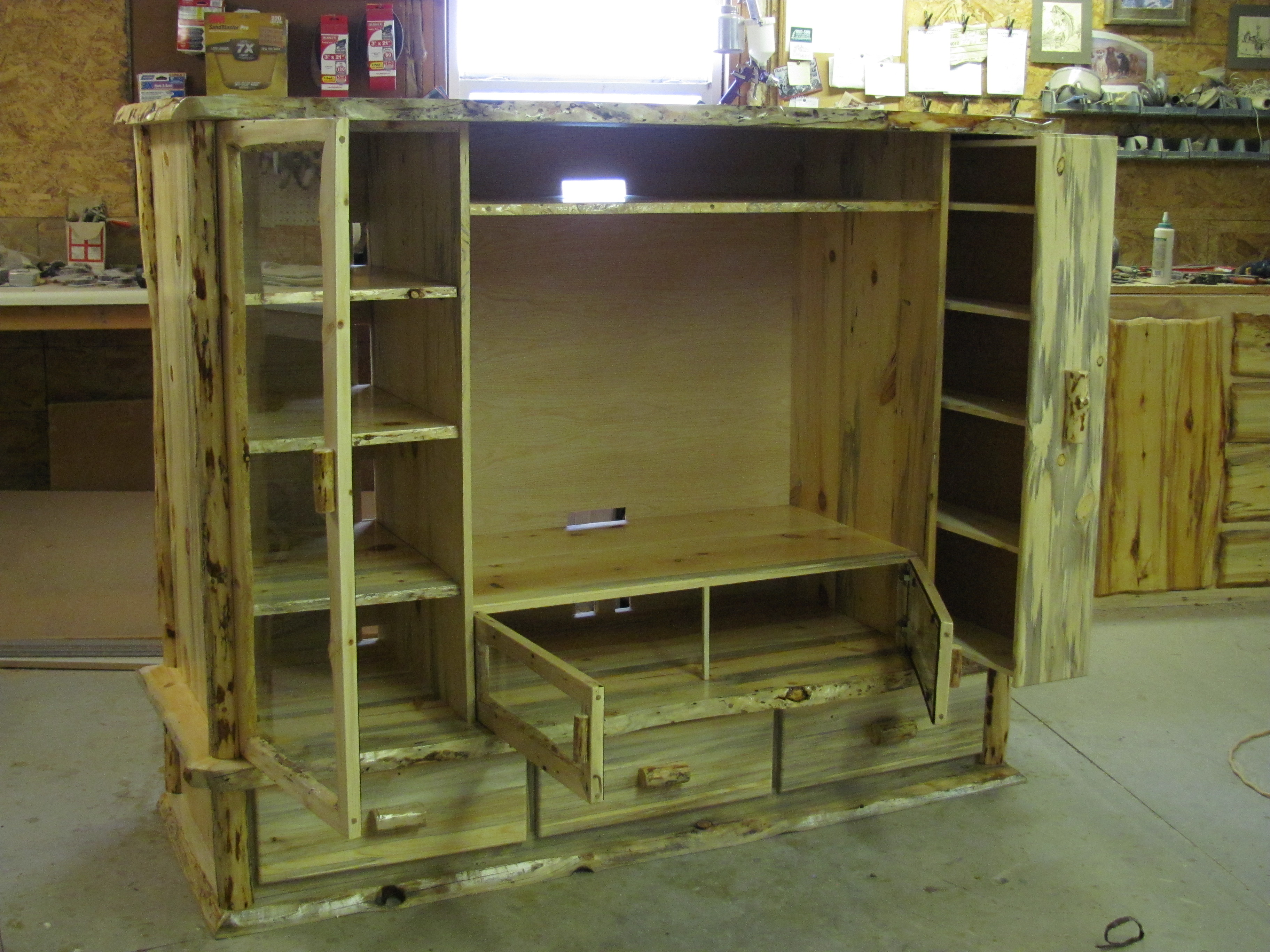 Blue Pine Entertainment Center