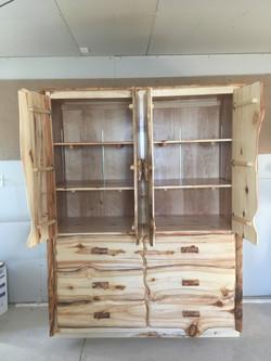 Storage cabinet (inside)