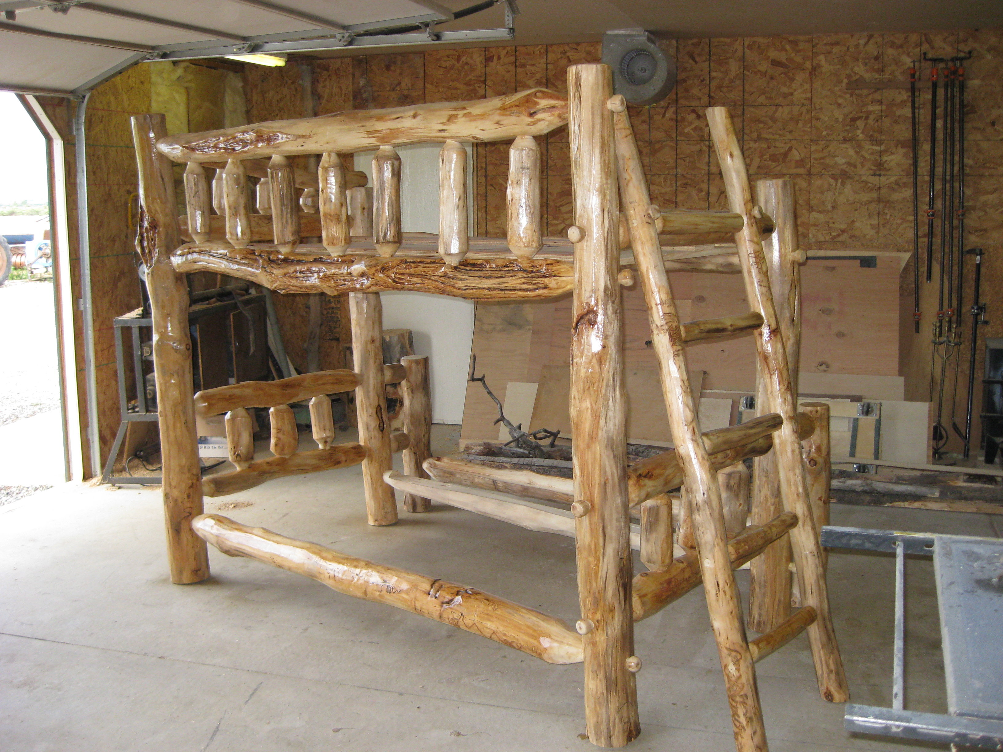 Custom Bunk Bed