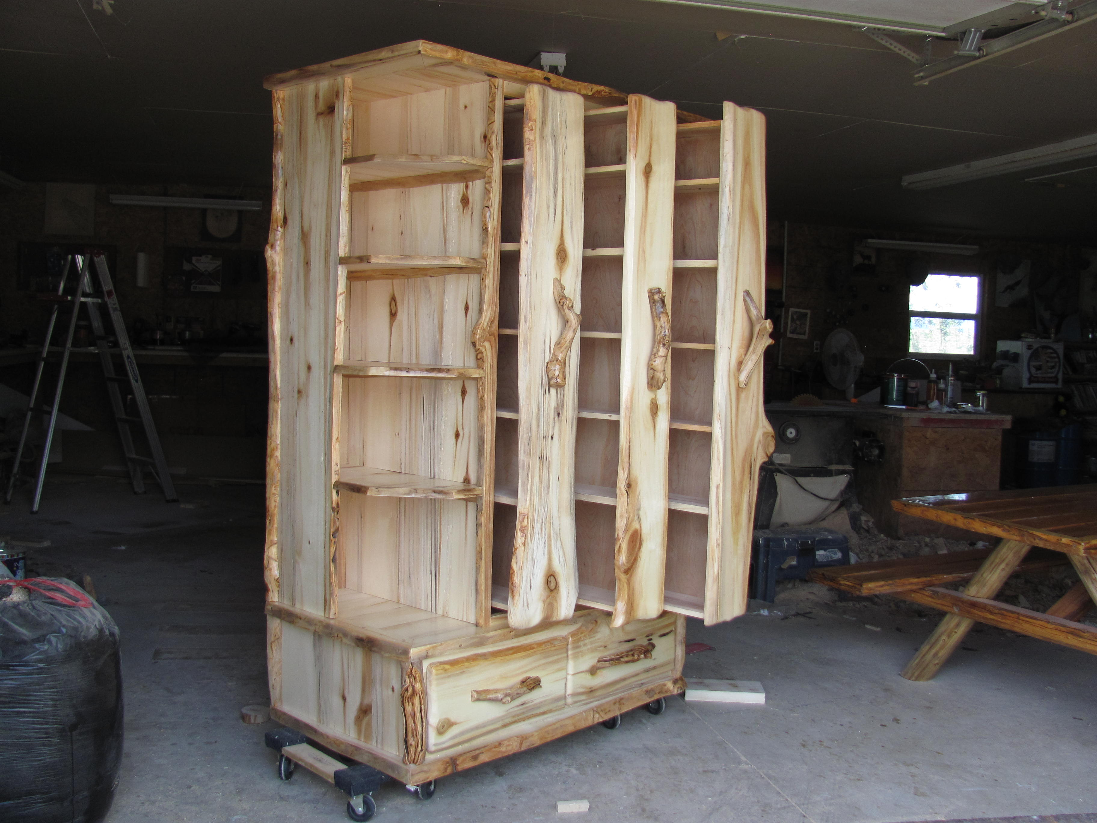 Custom Entertainment storage unit
