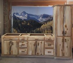 Aspen duel sink bathroom vanity