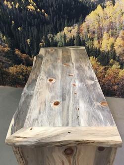 Blue pine top