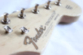 fender guitar headstock decal