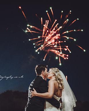 Wedding Fireworks Essex London