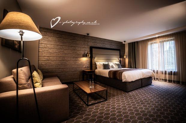 Commercial Hotel Bedroom