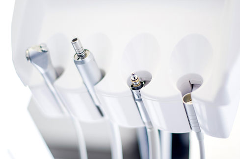 Dental equipment photography