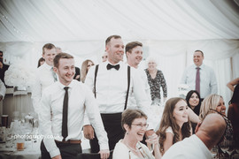 The boys at a wedding