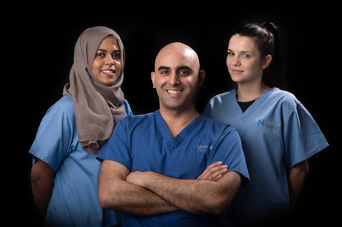 Head shot and group photography for Dentists