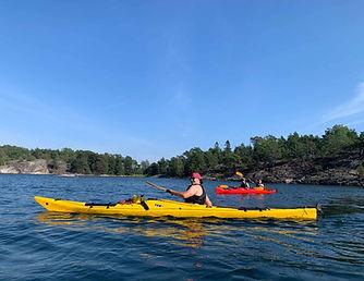 Sea Kayaking in Stockholm Archipelago