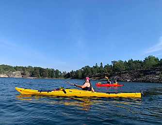 Sea Kayaking in Stockholm Archipelago