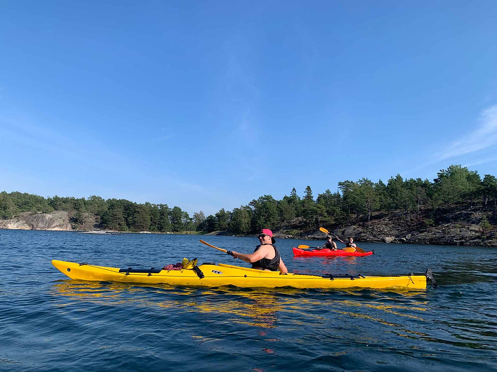 Sea Kayaking Stockholm Archipelago, Sweden
