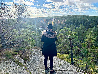 Hiking Tour in Nature Resreve Stockholm