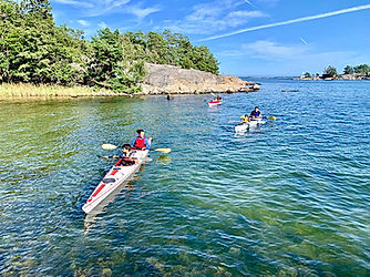 Camping and kayaking in Stockholm Archipelago
