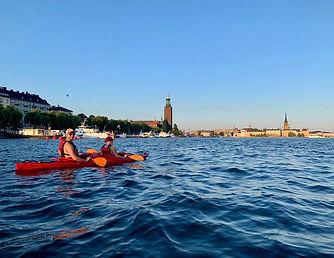 Kayaking in Stockholm