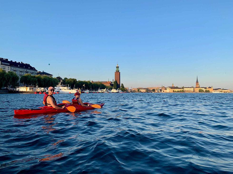 Kayak Tour in Stockholm