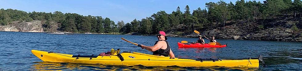 Kayak the Stockholm Archipelago