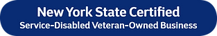 New York State Certified Service Disabled Veteran Owned Business