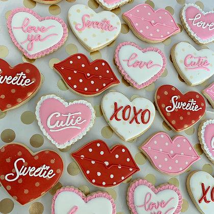 Classic Valentine's Cookies