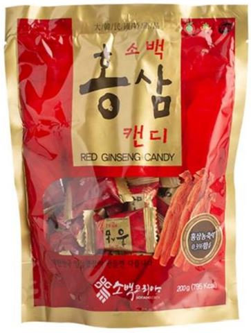 Kẹo Hồng Sâm Sobaek Candy Ginseng 200g