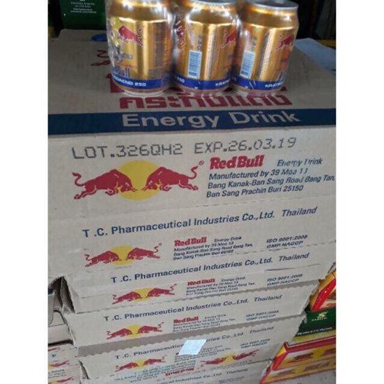 Thùng 24 lon nước Tăng Lực Red Bull 250ml