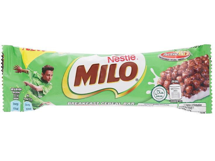 Bánh ngũ cốc Nestlé Milo Bar thanh 23.5g