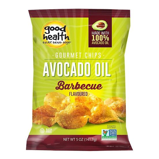 Good Health Snacks Avocado Oil Potato Chips Barcelona BBQ 6x142g