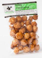 Gluten Free Quality Honey Macadamias 100g