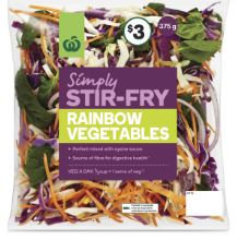 Simply Stir Fry Rainbow Vegetables 375g