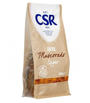 Csr Dark Muscovado Sugar 250g