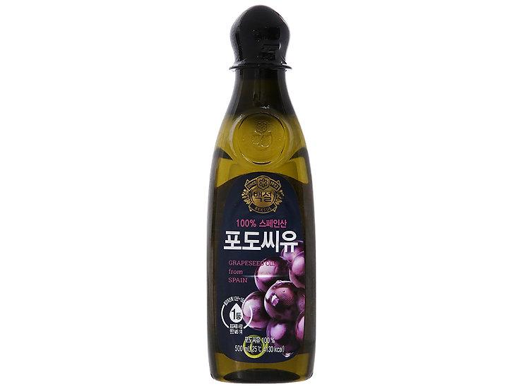 BHX Dầu hạt nho Beksul chai 500ml