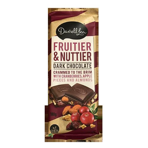 Darrell Lea Fruitier & Nuttier Block 180g